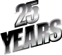 25th Year logo